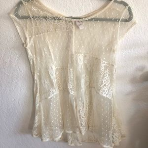 Tops - Lace Tunic blouse